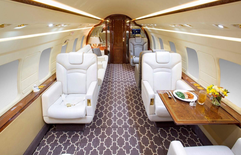 Challenger 601-3A/ER interior