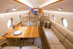 Private jet for sale charter: 2004 Gulfstream G200 super-midsize jet