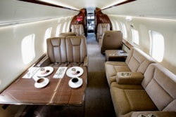 Private jet for sale charter: 2011 Bombardier Challenger super-midsize jet