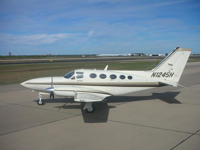 Cessna 414A exterior