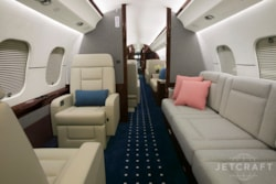 Private jet for sale charter: 2015 Bombardier Global 6000 ultra long range heavy jet