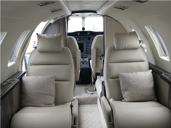 Citation CJ1 interior