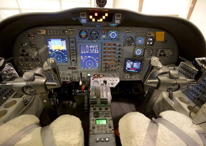Citation CJ1 panel