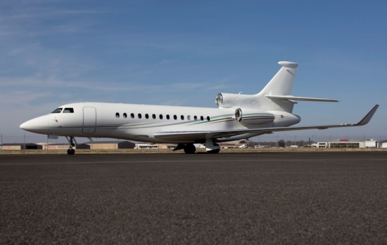 Private jet for sale charter: 2014 Dassault Falcon 7X long range heavy jet