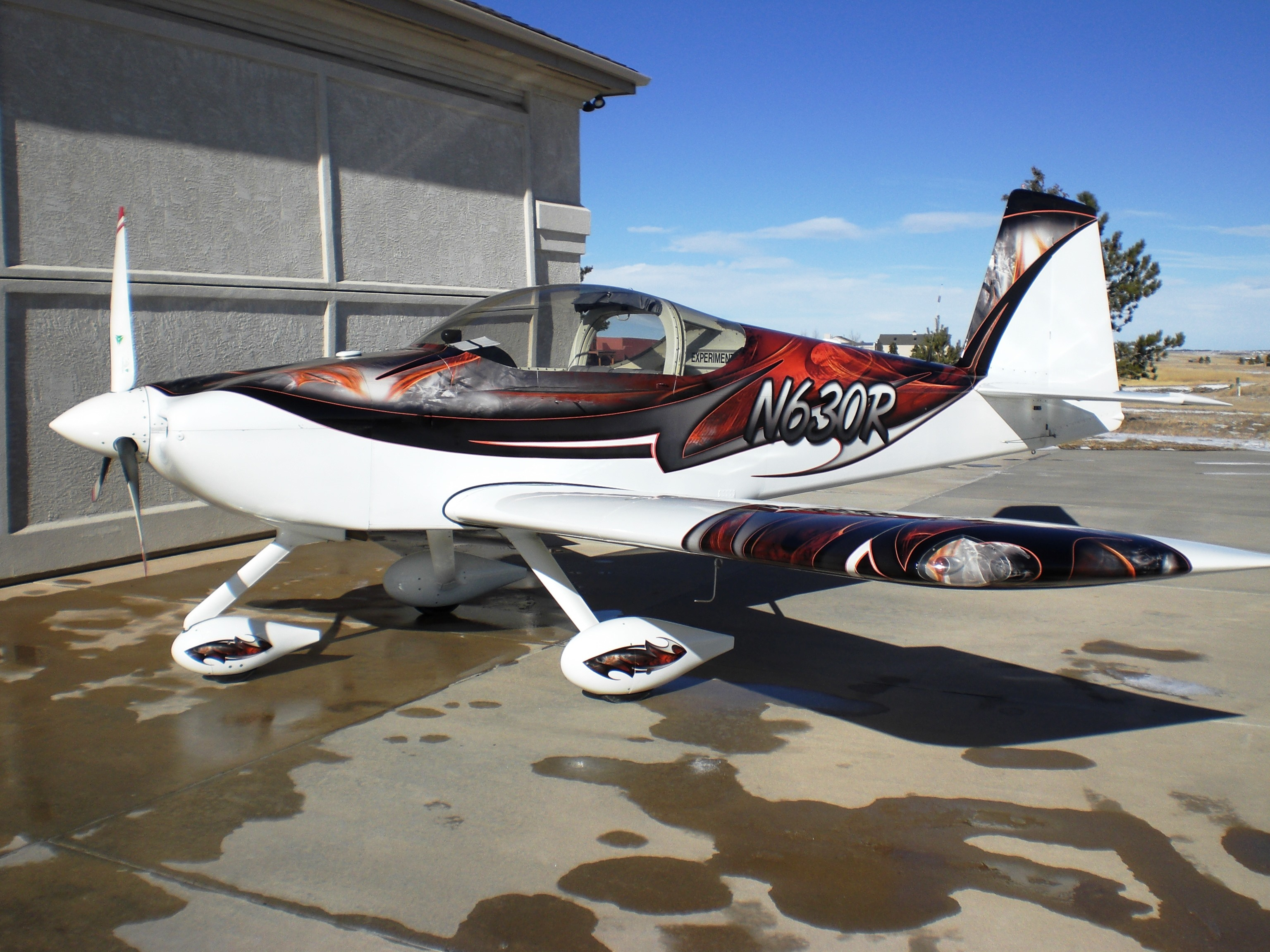 Aircraft Listing - Van RV-7A listed for sale