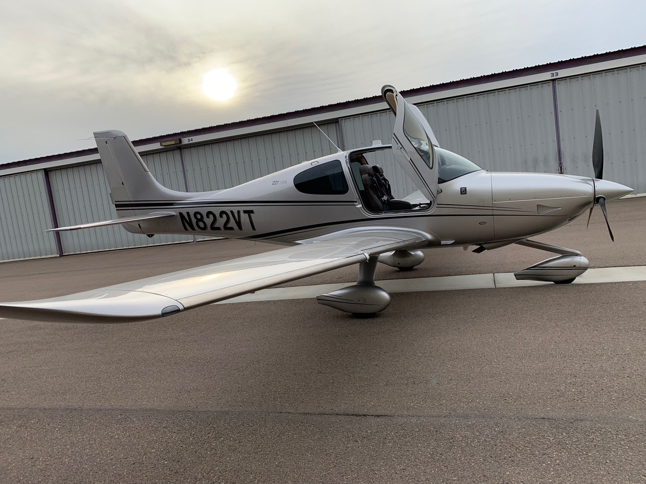 Aircraft Listing - Cirrus SR22T GTS listed for sale