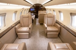 Private jet for sale charter: 2013 Bombardier Challenger 605 super-midsize jet