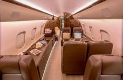 Private jet for sale charter: 2008 Bombardier Global 5000 long range heavy jet