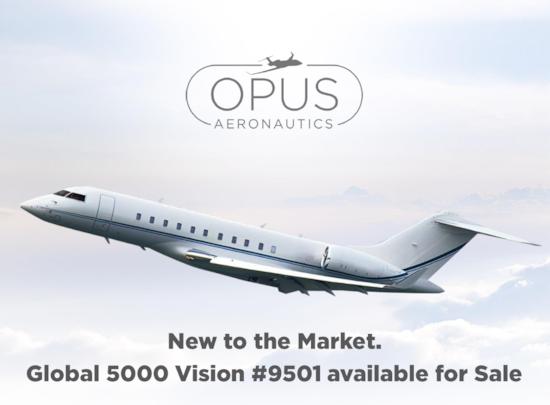 Private jet for sale charter: 2013 Bombardier Global 5000 long range heavy jet