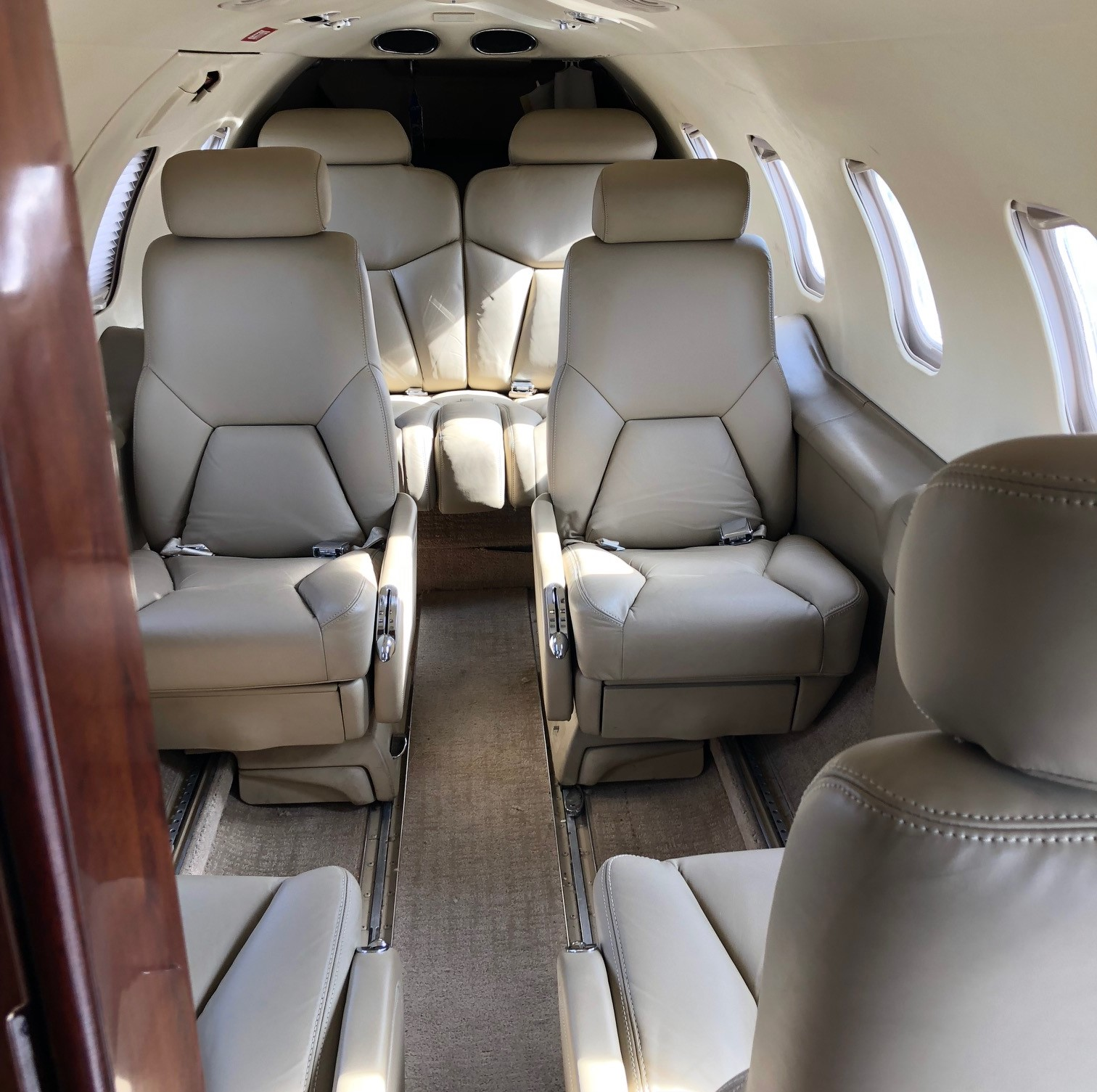 Learjet 31A interior
