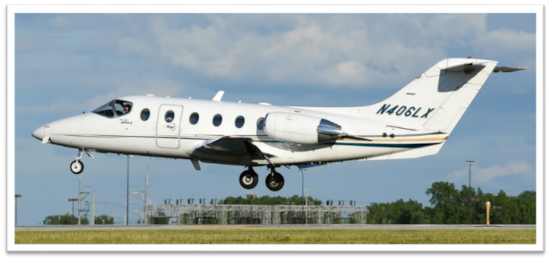 Private jet for sale charter: 1998 Beechjet 400A light jet