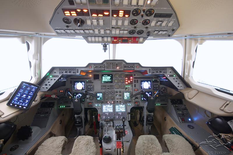 Hawker 800XP exterior