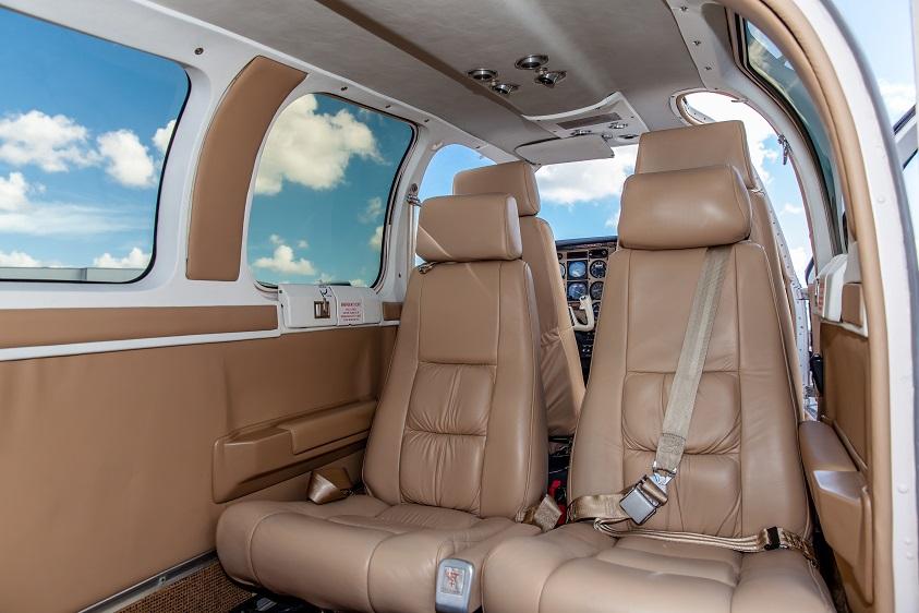 Bonanza A36 interior