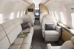 Private jet for sale charter: 2016 Bombardier Challenger 350 super-midsize jet