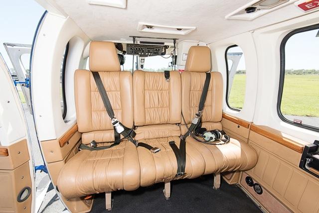 Bell 430 interior
