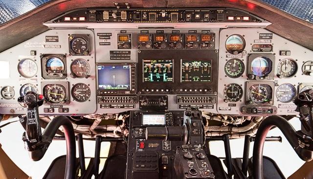 Bell 430 panel