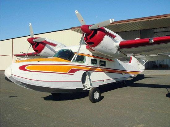 Widgeon G-44 Specifications, Cabin Dimensions, Speed - Grumman