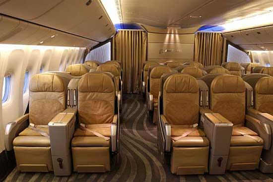 Charming ... Boeing 777   Interior ...