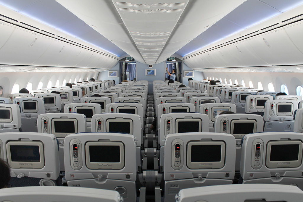 ... Boeing 787   Interior ...