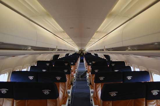 McDonnell Douglas MD-83 Specifications, Cabin Dimensions