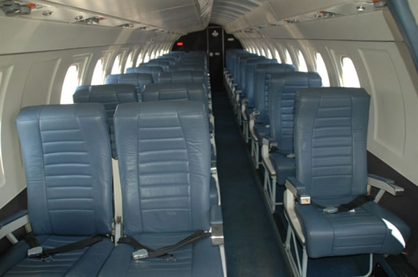 Saab 340b Exterior Interior