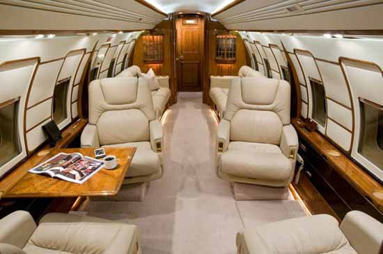 Challenger 601-3A/ER Specifications, Cabin Dimensions, Speed
