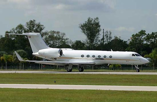 Gulfstream V business aircraft
