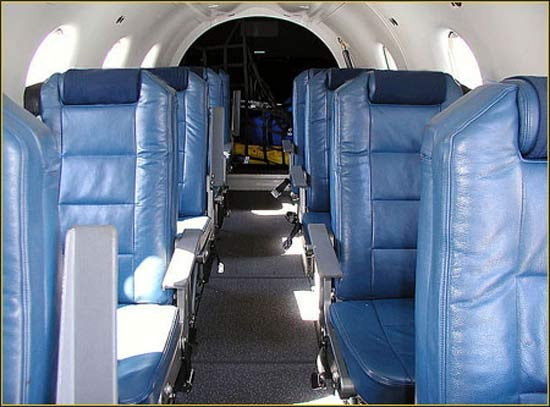... Pilatus PC 12 NG - interior ...
