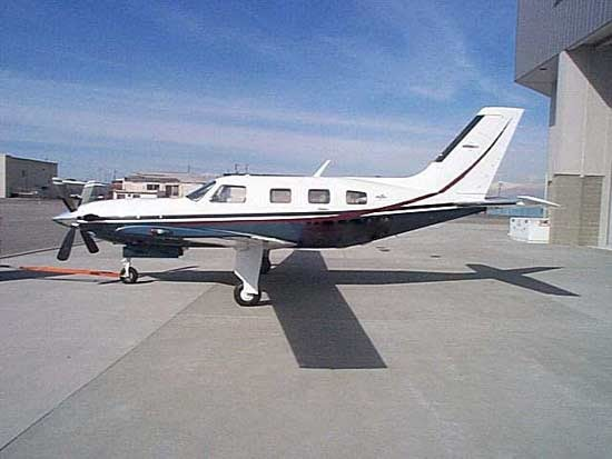 Malibu Meridian PA46-500TP Specifications, Cabin Dimensions