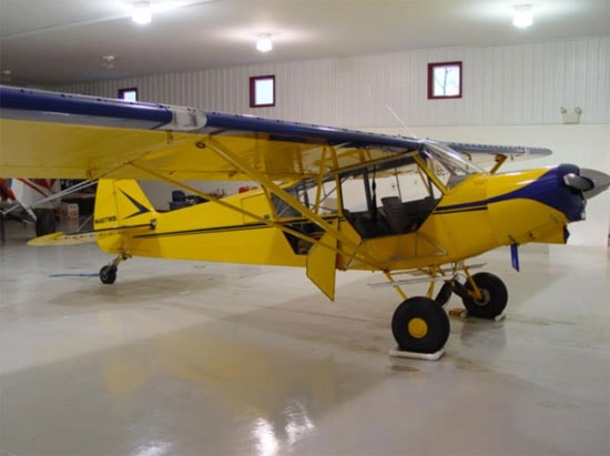 Super Cub PA-18A-160 Specifications, Cabin Dimensions, Speed