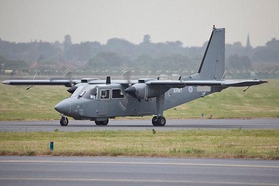 Islander BN-2T Specifications, Cabin Dimensions, Speed - Britten-Norman