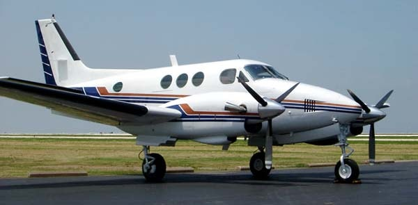 King Air E90 Specifications, Cabin Dimensions, Speed