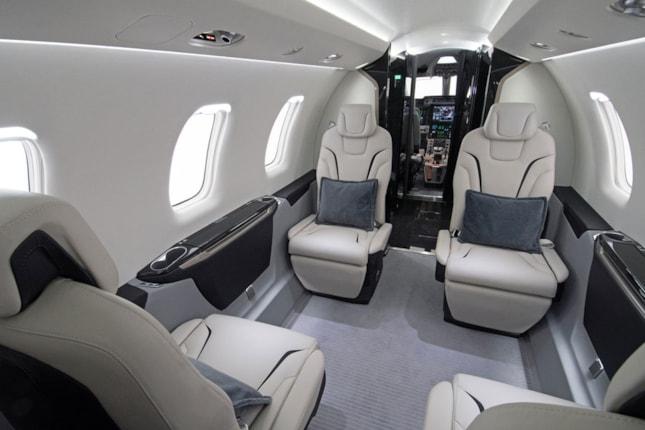 ... Pilatus PC-24 - interior ...